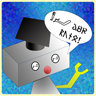 Vocabulary Teacher icon (a talking robot)